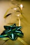 τύλιγμα κορδελλών στοιχείων σχεδίου Χριστουγέννων Στοκ Φωτογραφίες
