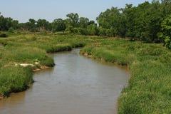 τύλιγμα ποταμών Στοκ εικόνα με δικαίωμα ελεύθερης χρήσης