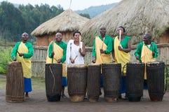 τύμπανα Ρουάντα στοκ φωτογραφία με δικαίωμα ελεύθερης χρήσης