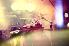 Τύμπανο στη σκηνή Στοκ Εικόνα