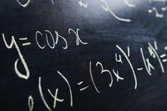 Τύποι μαθηματικών στοκ φωτογραφίες με δικαίωμα ελεύθερης χρήσης