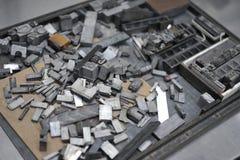 τύποι μετάλλων Στοκ εικόνα με δικαίωμα ελεύθερης χρήσης