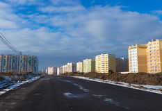 Τύποι οικοδομήσεων των κτηρίων πόλεων Στοκ φωτογραφίες με δικαίωμα ελεύθερης χρήσης
