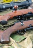 Τύποι πυροβόλων όπλων τουφεκιών Στοκ εικόνα με δικαίωμα ελεύθερης χρήσης