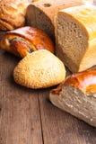 Τύποι ψωμιών στοκ εικόνες με δικαίωμα ελεύθερης χρήσης