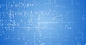 Τύποι Math στον πίνακα απεικόνιση αποθεμάτων