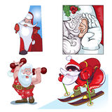 Τύποι Vraznykh Santa, βιασύνη σε σας Στοκ Φωτογραφία