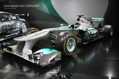 Τύπος 1 αυτοκίνητο Mercedes F1 W04 Στοκ φωτογραφία με δικαίωμα ελεύθερης χρήσης