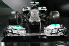 Τύπος 1 αυτοκίνητο Mercedes F1 W04 Στοκ Φωτογραφίες