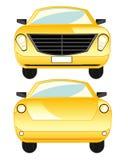 Τύπος αυτοκινήτων μετωπικός και πίσω απεικόνιση αποθεμάτων