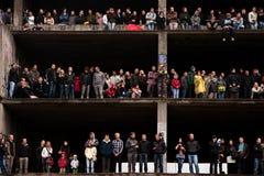 τύπος γεγονότος ταύρων π&omicron Στοκ φωτογραφία με δικαίωμα ελεύθερης χρήσης