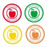 Τύπος εικόνας μήλων Στοκ Εικόνες