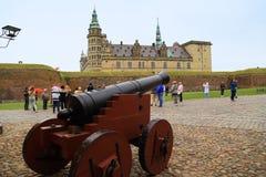 τύπος εικόνας της Δανίας κάστρων hdr kronborg στοκ εικόνα