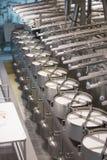 Τύπος εσωτερικών γάλακτος Στοκ Φωτογραφία