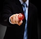 Τύπος ισχύος χεριών κουμπ& Στοκ Φωτογραφία