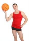 τύπος καλαθοσφαίρισης Στοκ Εικόνες