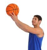 Τύπος καλαθοσφαίρισης στοκ εικόνα με δικαίωμα ελεύθερης χρήσης