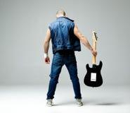 τύπος κιθάρων Στοκ φωτογραφία με δικαίωμα ελεύθερης χρήσης