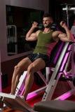 Τύπος ποδιών Workout Στοκ Εικόνες