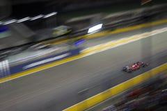 Τύπος 1 της Σιγκαπούρης κύριος raceday Στοκ Εικόνες