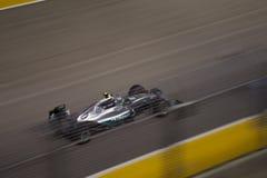 Τύπος 1 της Σιγκαπούρης κύριος raceday Στοκ Φωτογραφία