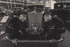 Τύπος της Mercedes-Benz αυτοκινήτων πολυτέλειας 320 καμπριολέ Δ W142, 1939 Στοκ εικόνες με δικαίωμα ελεύθερης χρήσης