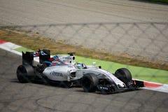 Τύπος 1 του Ουίλιαμς σε Monza που οδηγείται από το Felipe Massa Στοκ Εικόνες