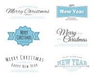 Τύπος Χαρούμενα Χριστούγεννας απεικόνιση αποθεμάτων