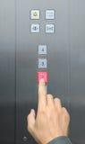 Τύπος χεριών πατωμάτων 2 επιχ Στοκ Φωτογραφίες