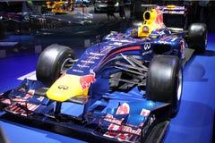 Τύπος 1 του Red Bull αγωνιστικό αυτοκίνητο Στοκ εικόνες με δικαίωμα ελεύθερης χρήσης
