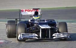 Τύπος 1 - Bruno Senna Στοκ Εικόνα
