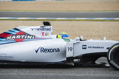 Τύπος 1: Felipe Massa Στοκ εικόνα με δικαίωμα ελεύθερης χρήσης