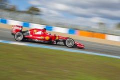 Τύπος 1, 2015: Kimi Raikkonen, Ferrari Στοκ Φωτογραφία