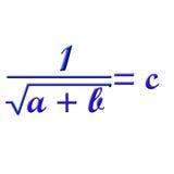 Τύπος Math Στοκ φωτογραφία με δικαίωμα ελεύθερης χρήσης