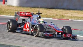 Τύπος 1 McLaren Στοκ Φωτογραφία