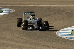 Τύπος 1 2015: Nico Rosberg Στοκ Εικόνες