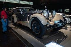 Τύπος SS της Mercedes-Benz αυτοκινήτων πολυτέλειας (έξοχος αθλητισμός), 1930 Στοκ φωτογραφία με δικαίωμα ελεύθερης χρήσης
