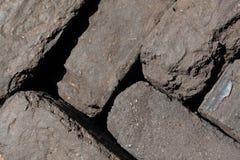 Τύρφη ανθρακόπλινθων που συσσωρεύεται εδώ κοντά στοκ εικόνα με δικαίωμα ελεύθερης χρήσης