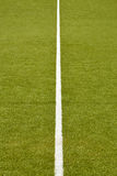 Τύρφη ποδοσφαίρου Στοκ φωτογραφία με δικαίωμα ελεύθερης χρήσης