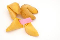 τύχη μπισκότων Στοκ εικόνες με δικαίωμα ελεύθερης χρήσης