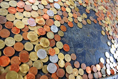 τύχη νομισμάτων Στοκ Εικόνες