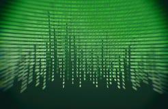 δυαδικός κώδικας πράσιν&omicr Στοκ Εικόνα