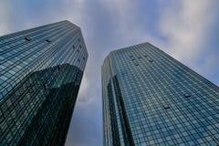Υαλώδεις πύργοι γραφείων Στοκ Εικόνα
