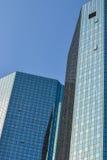 Υαλώδεις πύργοι γραφείων Στοκ Φωτογραφία