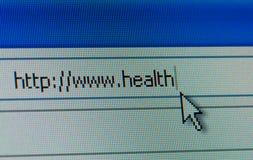 υγεία Διαδίκτυο έννοια&sigma Στοκ φωτογραφία με δικαίωμα ελεύθερης χρήσης