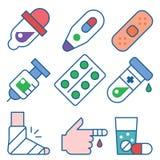 Υγεία και ιατρική φροντίδα Στοκ Εικόνες