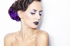 υγεία καλλυντικών ομορφιάς makeup Στοκ φωτογραφία με δικαίωμα ελεύθερης χρήσης