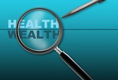 Υγεία - πλούτος ελεύθερη απεικόνιση δικαιώματος