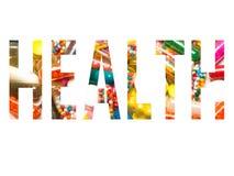 Υγεία στο σύμβολο Στοκ φωτογραφίες με δικαίωμα ελεύθερης χρήσης