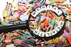 υγεία διανοητική Στοκ φωτογραφία με δικαίωμα ελεύθερης χρήσης
